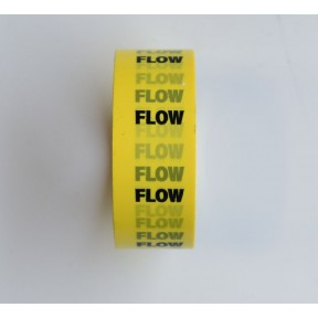 Pipe I.D. tape 'Flow'